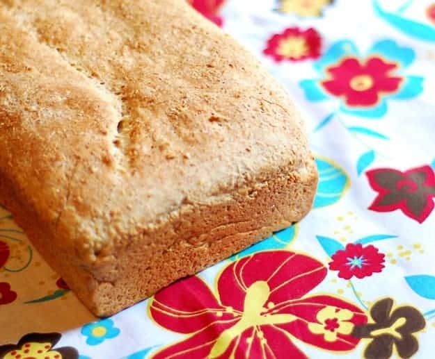 whole wheat bread recipe with honey