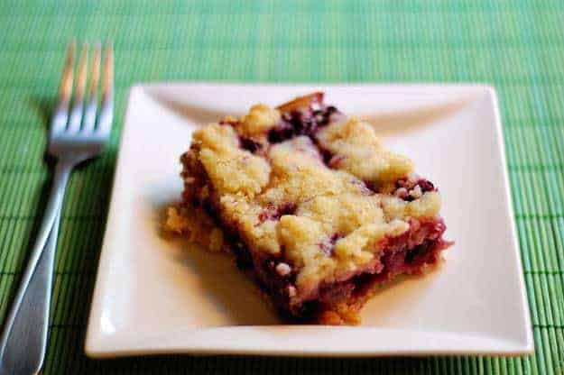 Blackberry PIe Bars - a simple and delicious way to make pie without ...
