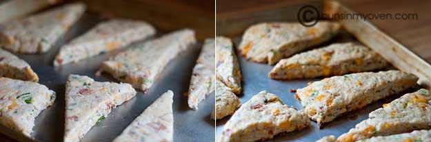 Bacon and Cheddar Scones recipe