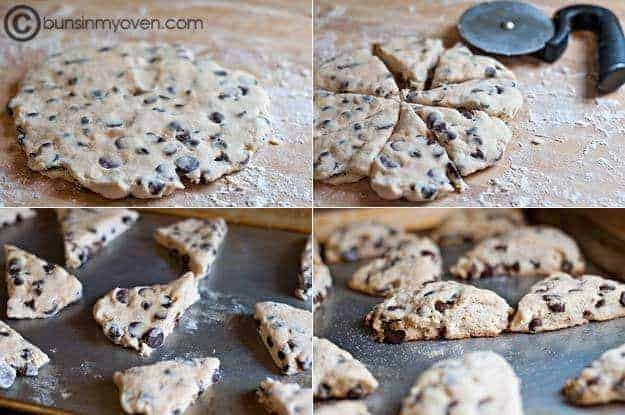 This scone recipe is the best. How can you go wrong with chocolate chips!