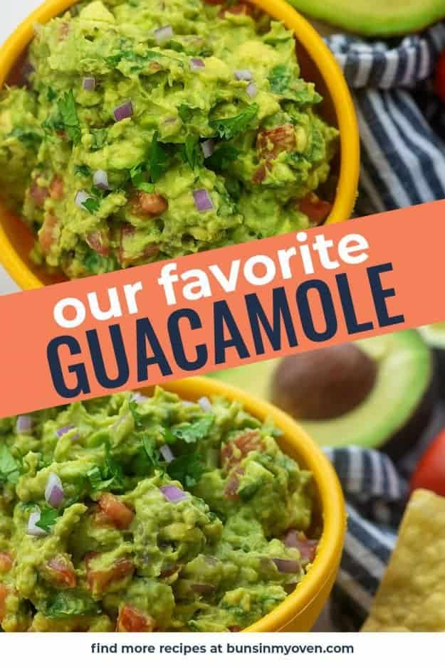 guacamole photo collage