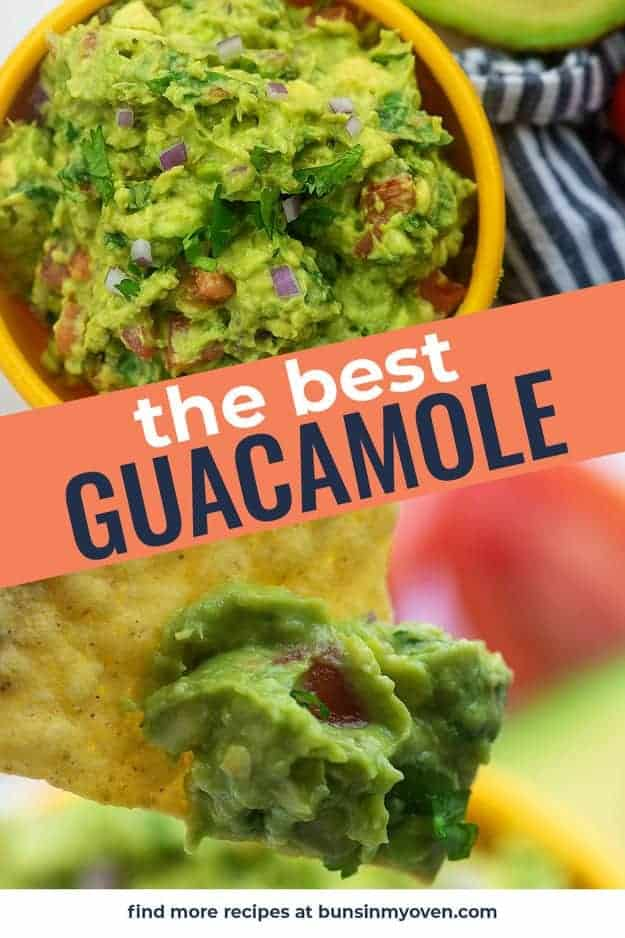 best guacamole recipe photo collage