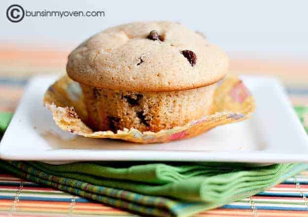 Chocolate Chip Surprise Muffins recipe