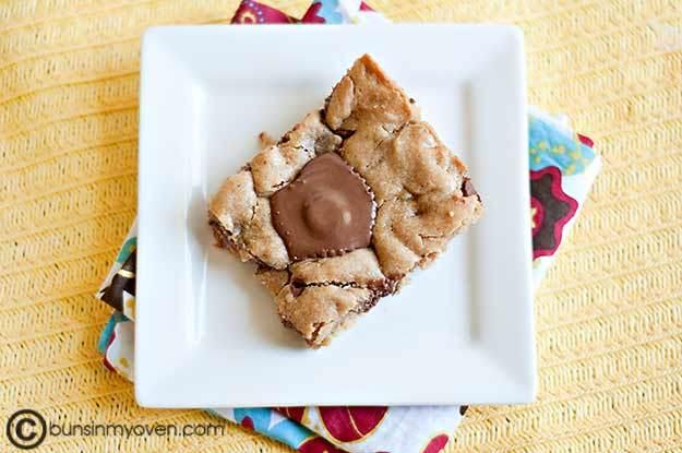 Peanut Butter Brownies recipe