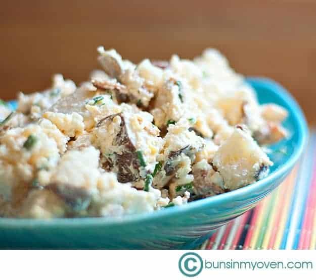 Loaded Baked Potato Salad!