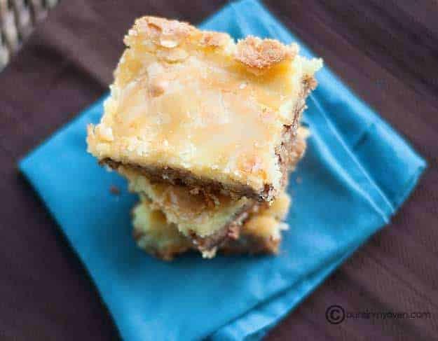 Butter Pecan Squares recipe