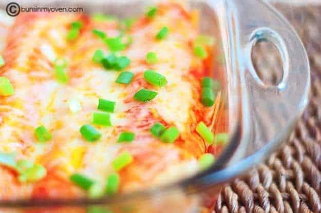 Cream Cheese Chicken Enchiladas recipe