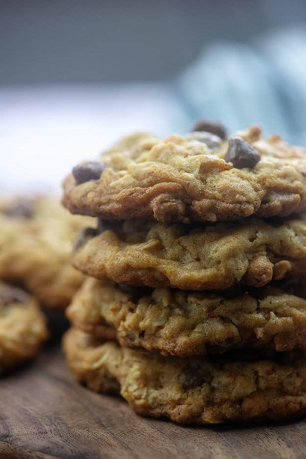 Ranger cookies are big, hearty cookies that pack in all kinds of goodies from oats to peanuts to Wheaties cereal! #cookies #recipe