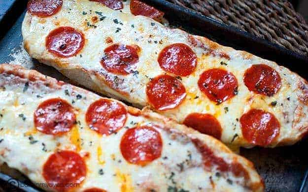 Pizza Bread — Buns In My Oven