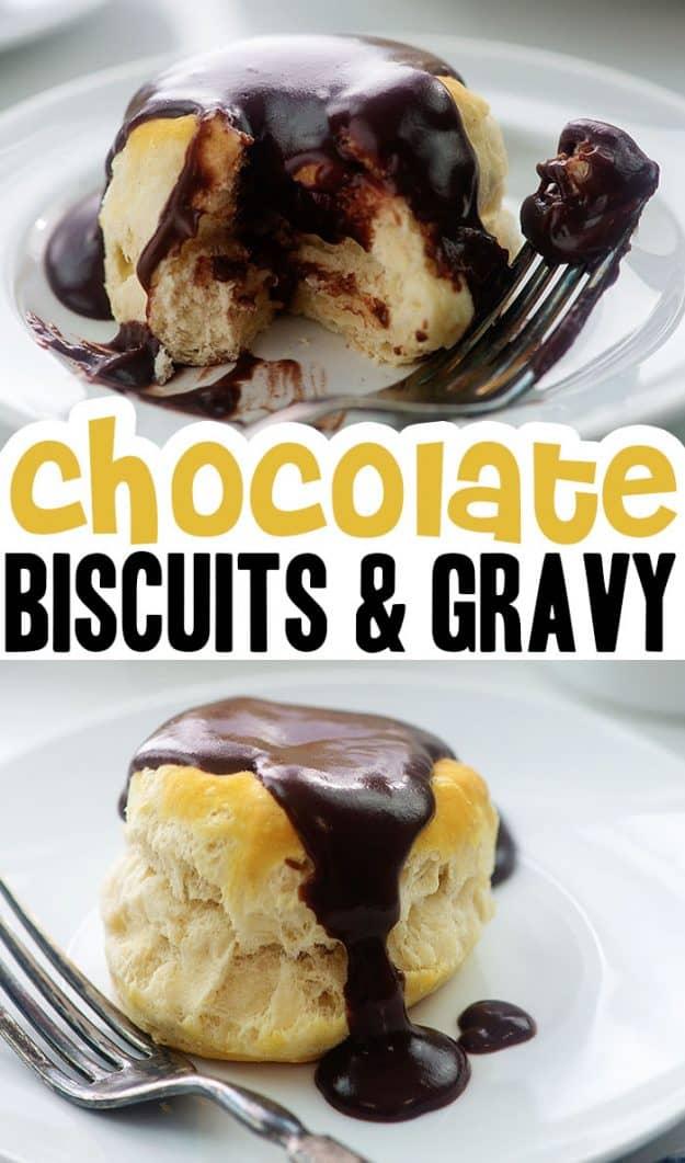chocolate gravy photo collage