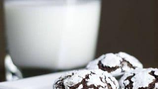 Chocolate Espresso Snowcaps