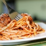 homemade spaghetti sauce recipe and meatballs