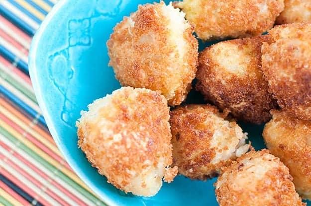 Bacon and Cream Cheese Arancini recipe