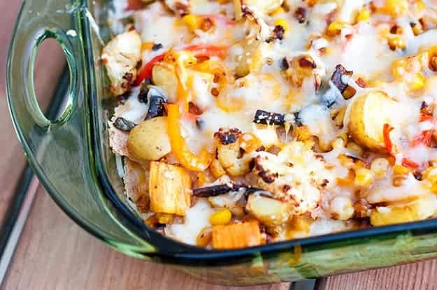 Roasted Vegetable Enchiladas recipe
