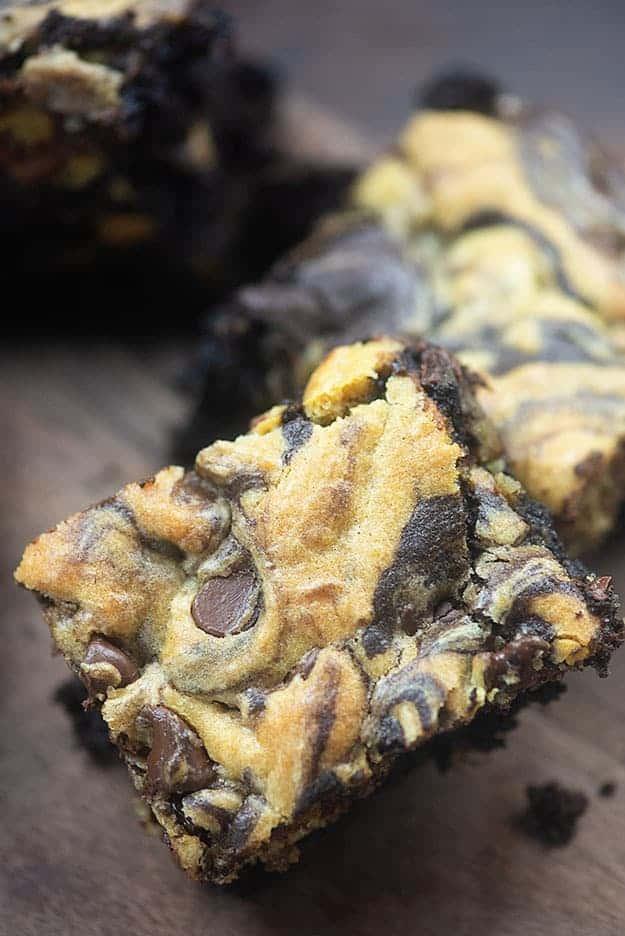 brookie recipe close up