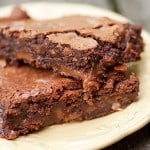 caramel pecan brownies