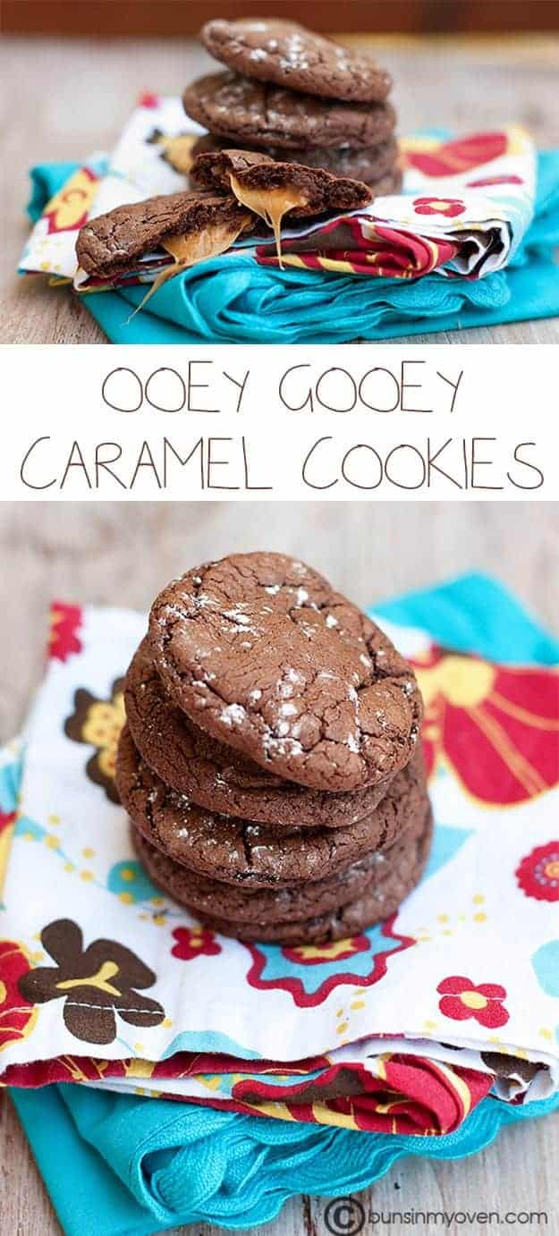 Rolo Cake Mix Cookies recipe