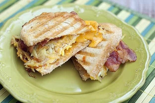 Breakfast Panini recipe