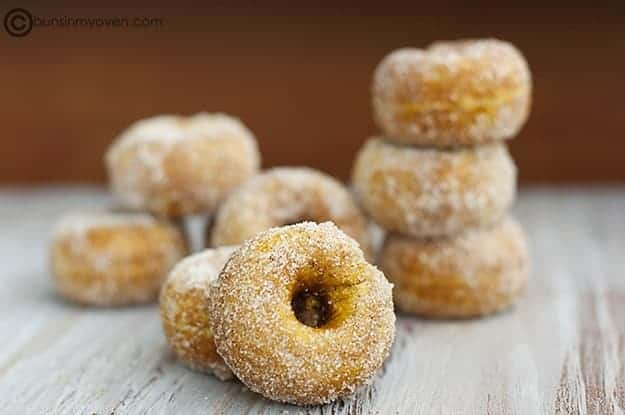 Pumpkin Donuts {And a Thank You!} recipe