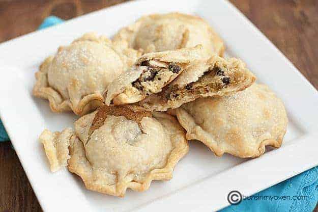 Mini Chocolate Chip Cookie Pies recipe
