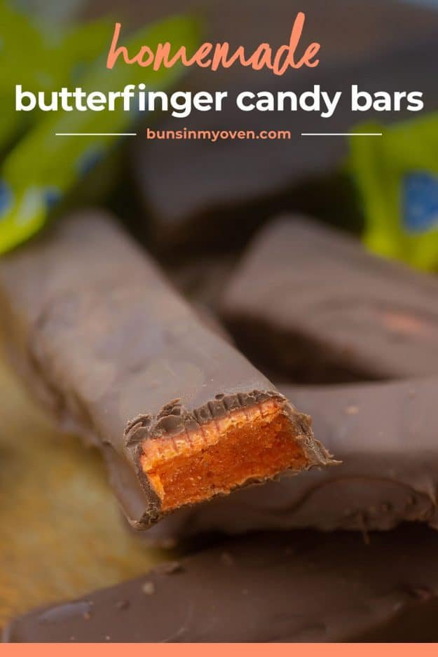 Butterfinger candy bar recipe.