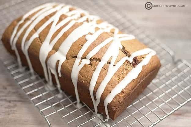 Maple Cinnamon Quick Bread recipe