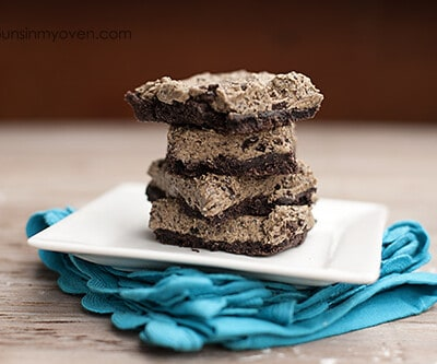 Peanut butter oreo bars