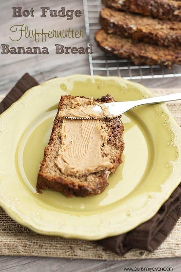 Recipe: Hot fudge Fluffernutter banana bread