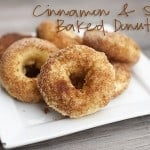 cinnamon and sugar cake donut recipe