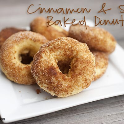 cinnamon and sugar cake donut recipe