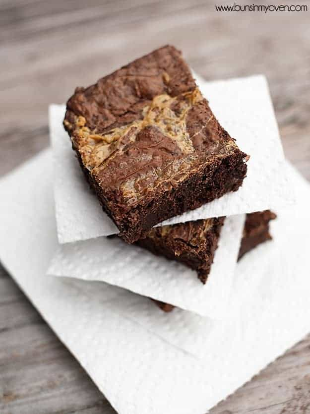 Dulce de Leche Brownies recipe