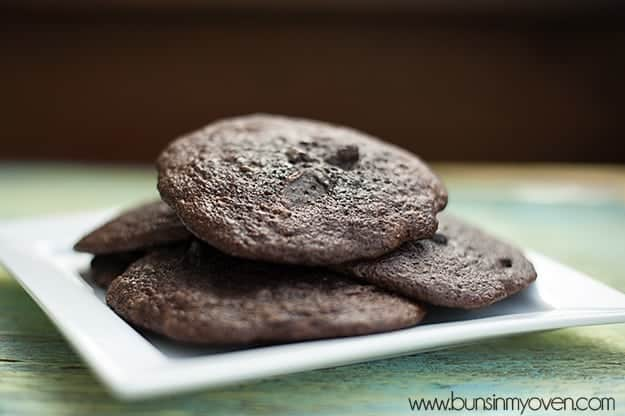 cookies made from brownie mix recipe