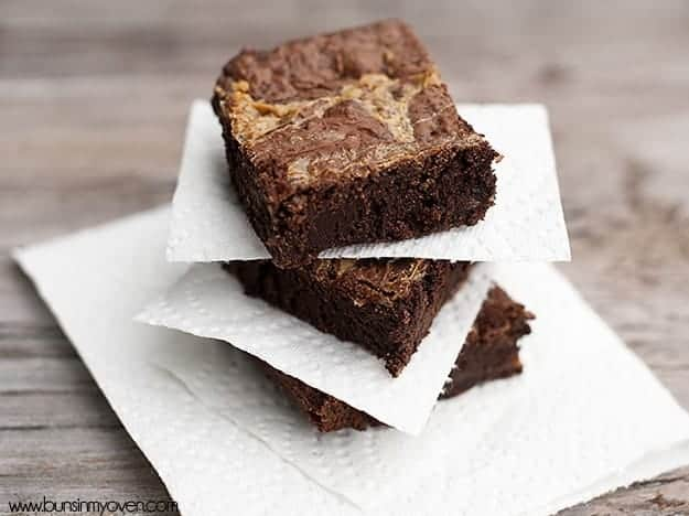 dulce de leche and brownies