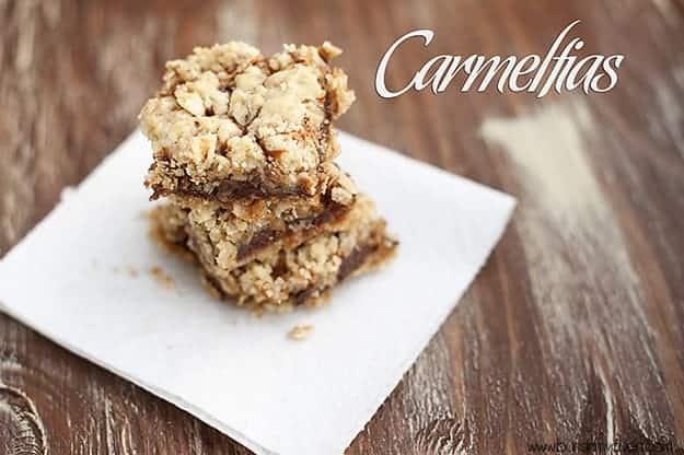oatmeal carmelitas