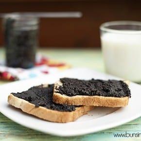 oreo spread on toast