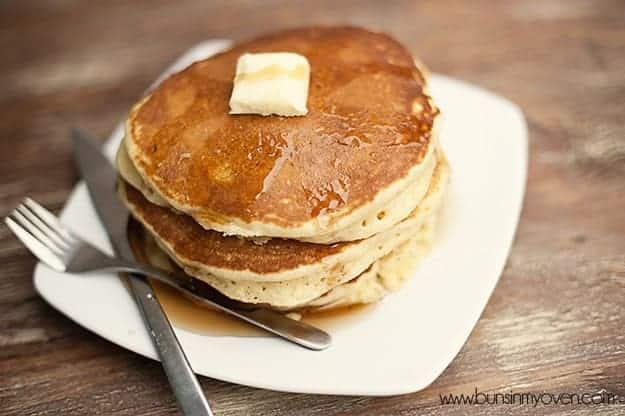 Classic Buttermilk Pancake Recipe recipe