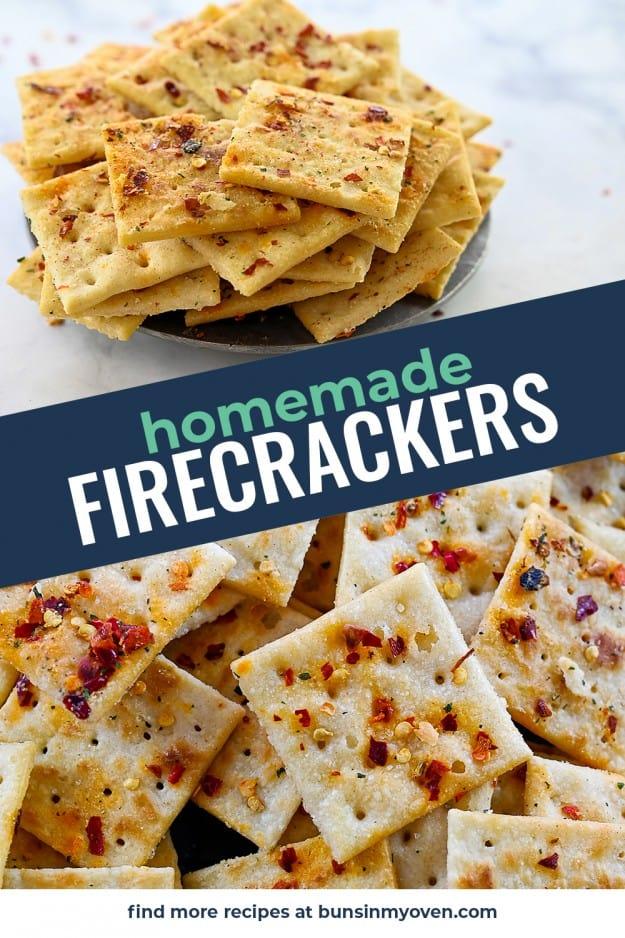 collage of saltine cracker images.