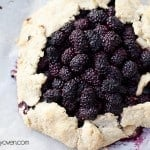 Honey Cinnamon Blackberry Crostata recipe