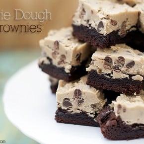 cookie dough brownie recipe