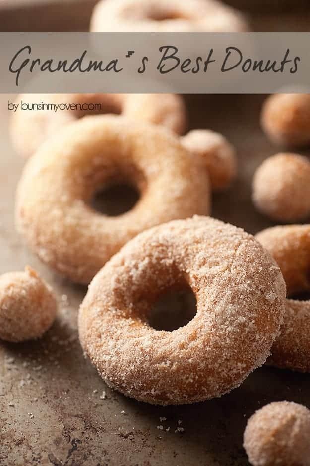 grandma's best donut recipe