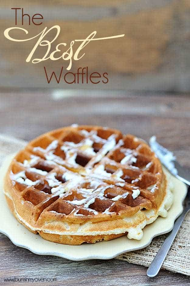 The best waffles I've ever made! Light, fluffy, and perfectly crispy. Perfect for your Saturday morning breakfast.