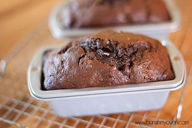 Triple Chocolate Banana Bread recipe