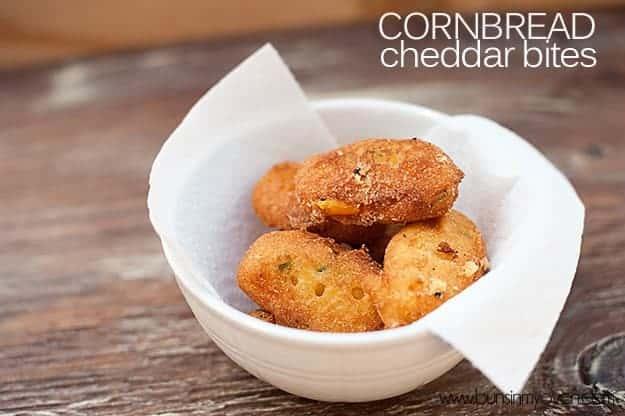 Jalapeño Cornbread Cheddar Bites recipe