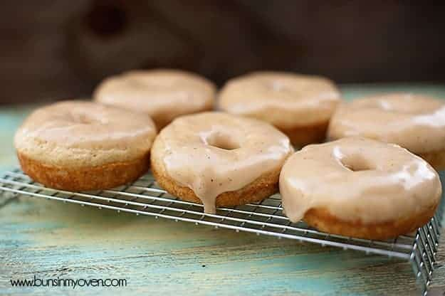 Browned Butter Glazed Cinnamon Donuts — Buns In My Oven