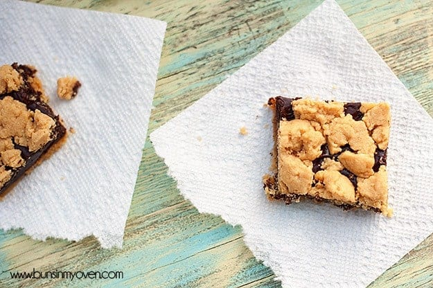 Buns In My Oven Chocolate Peanut Butter Bars — Buns In My Oven