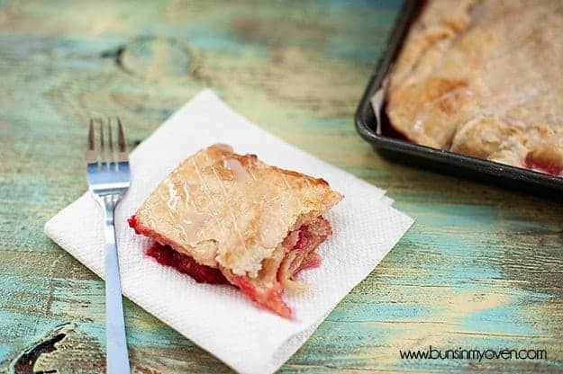 Raspberry Slab Pie recipe