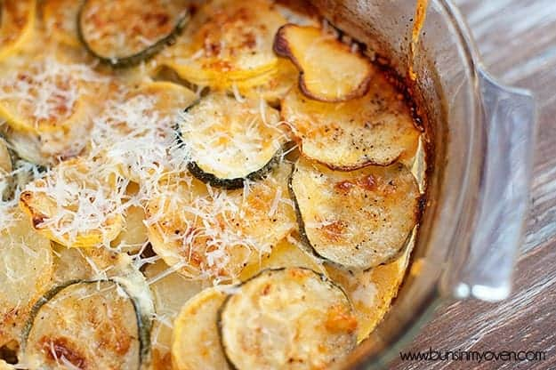Summer Squash Gratin — Buns In My Oven