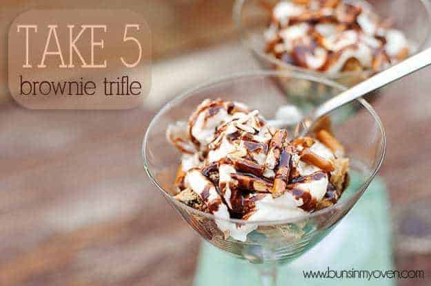 take 5 brownie trifle recipe