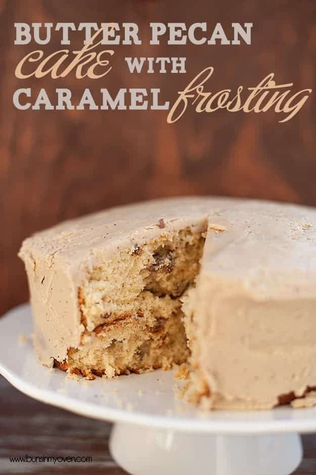 cake with a brown butter pecan cake maple pecan chiffon cake with ...