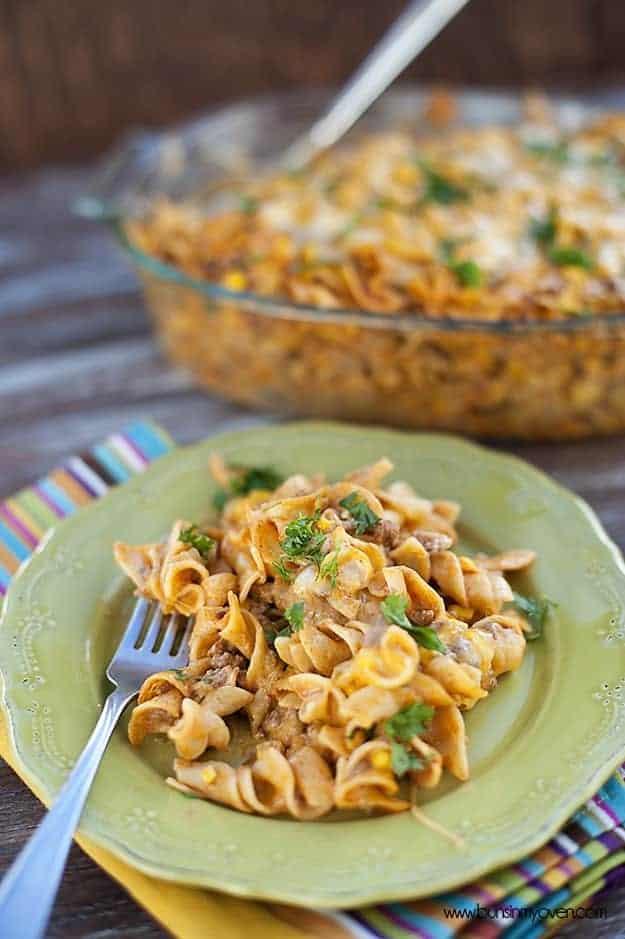 Mexican Noodle Casserole Recipe — Dishmaps
